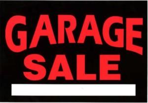 Garage-sale